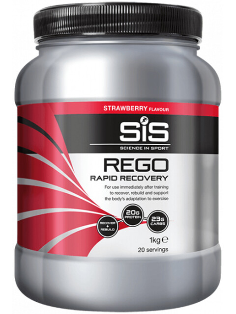 SiS Rego Rapid Recovery Dose 1kg Strawberry